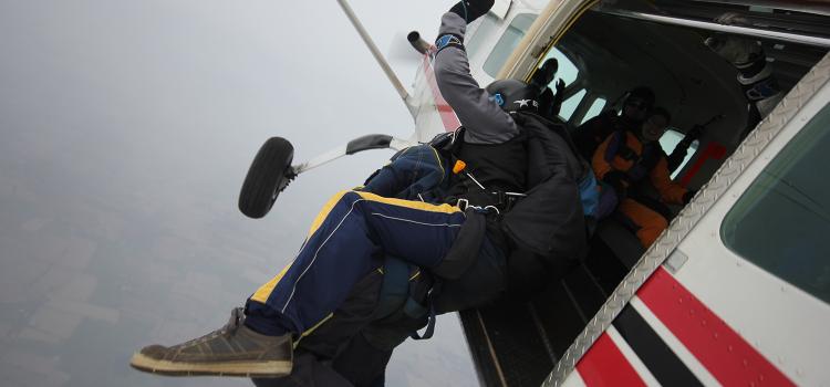 #MyBreak50 Anniversary Skydive